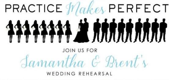 Should We Have A Wedding Rehearsal? — Practice Makes Perfect!